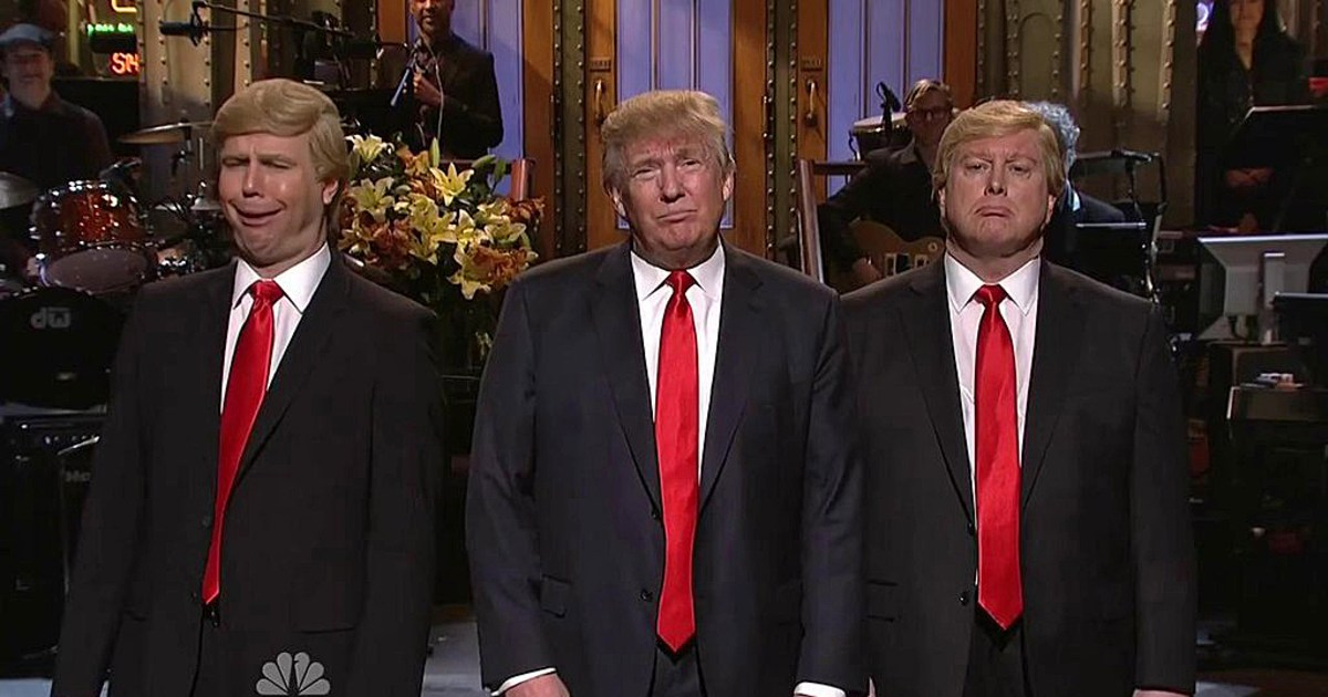 Donald Trump Hosts 'Saturday Night Live' Amid Protests