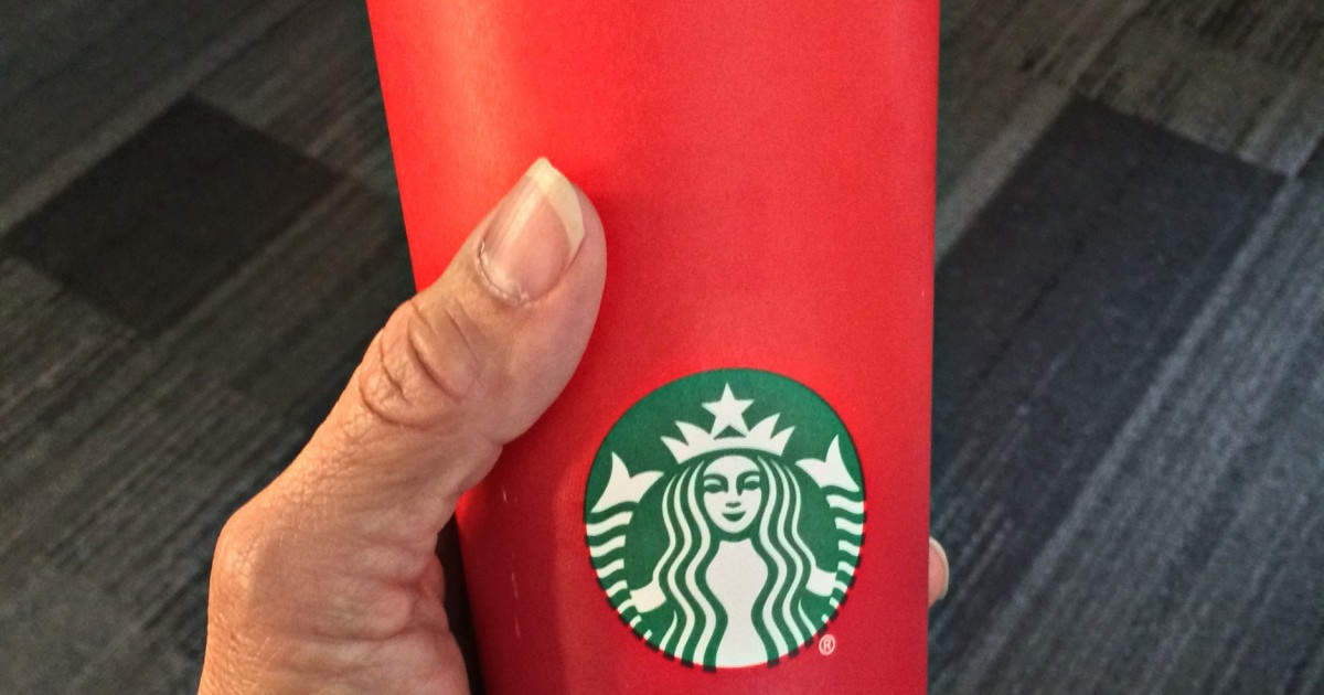 Is Starbucks Waging 'War on Christmas'? Red Cup Stirs Controversy ...