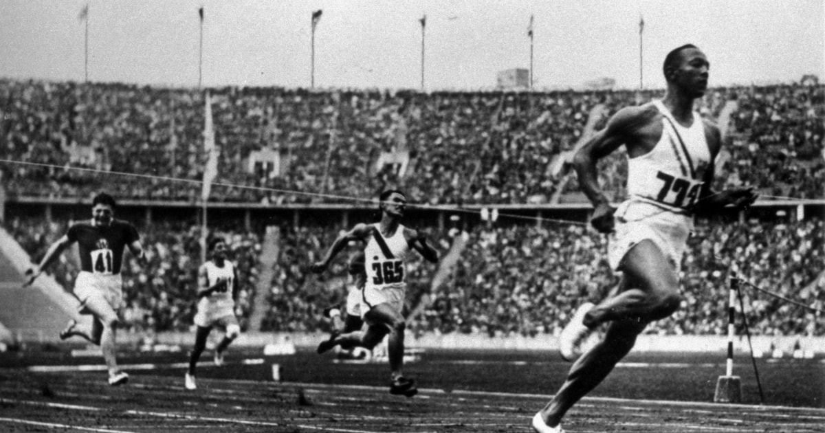 jesse owens the race against racism Race is a biopic that showcases jesse owens' quest to review – race the story also shows that not all movements to fight against racism are done by.