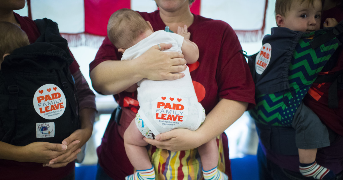 COVID-19 is showing us, now more than ever before, that we need national paid leave
