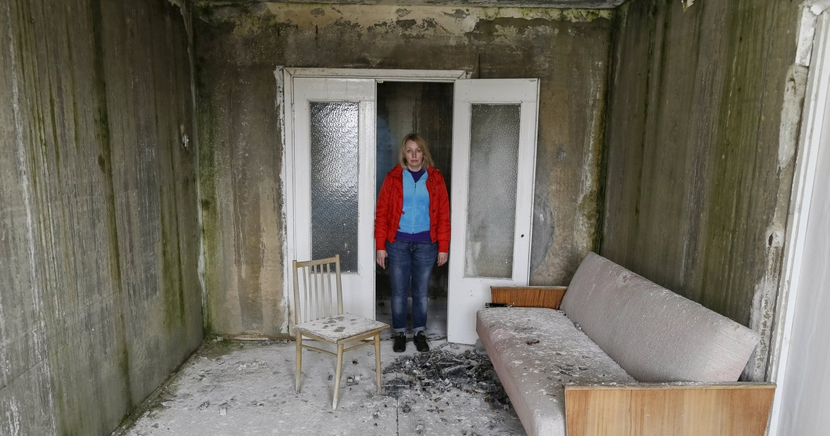 chernobyl survivors find hometown overrun by time