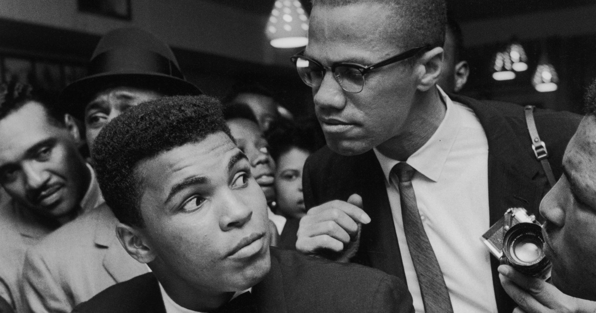 Image result for malcolm x muhammad ali