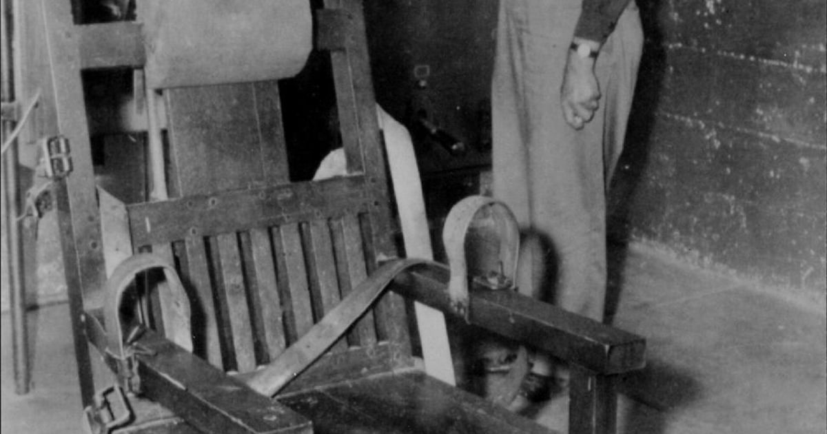 Cool City In Oklahoma Renews Fight For Old Sparky Electric Cjindustries Chair Design For Home Cjindustriesco