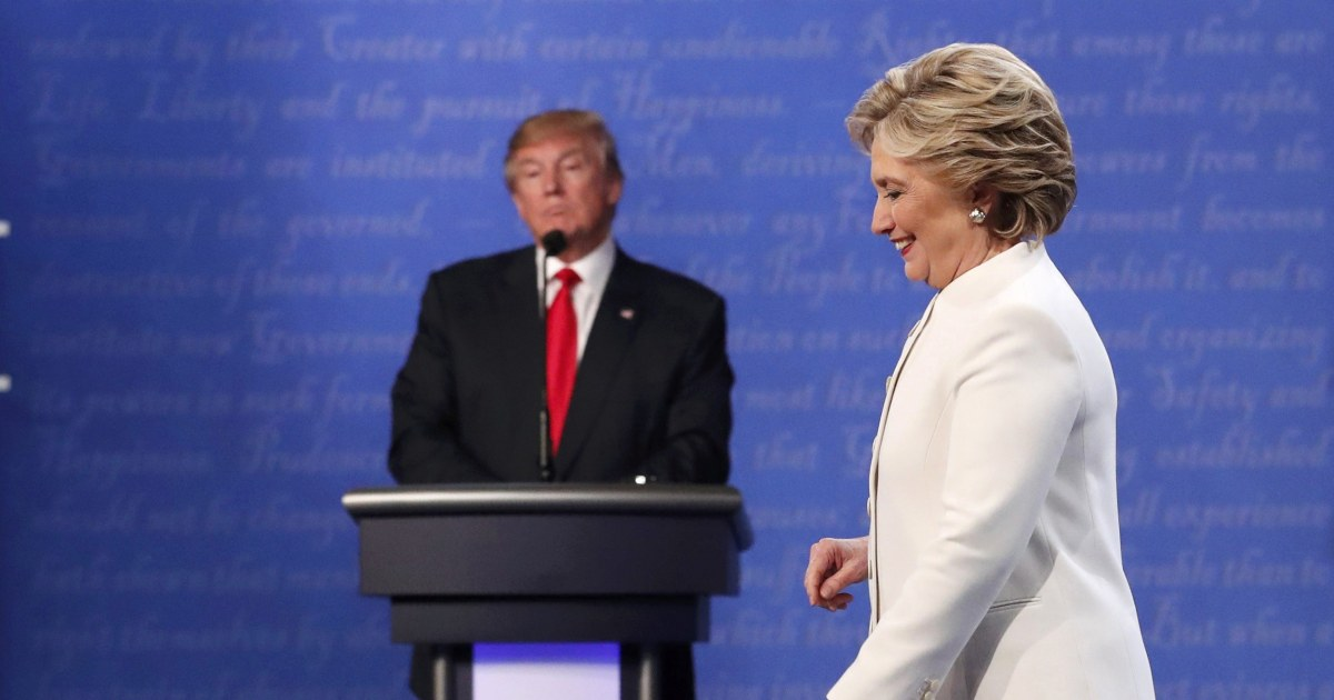 Does Team Trump realize that Hillary Clinton isn't running?