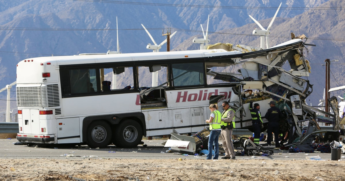 Worn Tires May Have Had Role In Fatal California Bus Crash