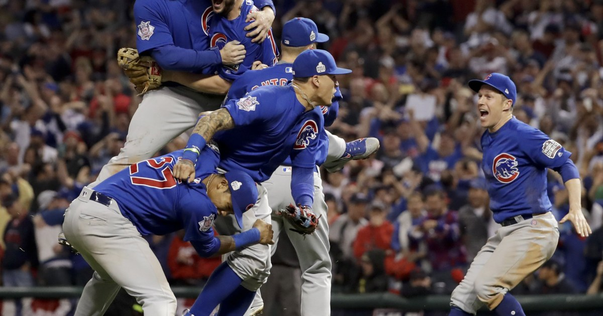 0355eb618 Chicago Cubs Bury Curse With First World Series Title in 108 Years