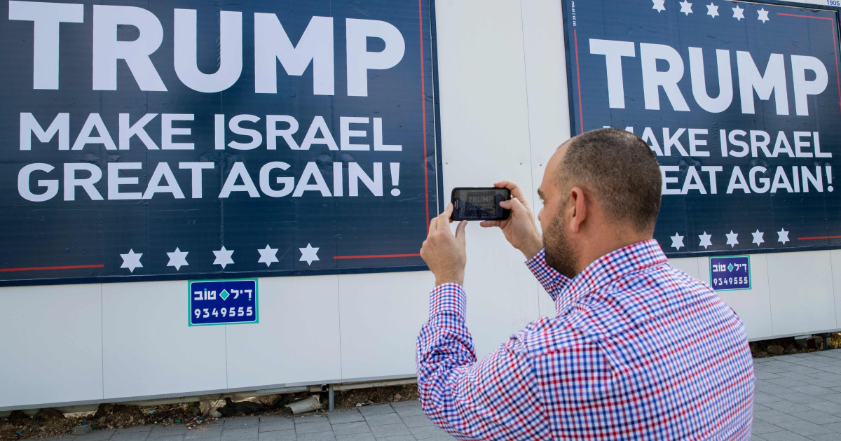 364556ece435 Israel s Hard-Liners Are Emboldened by Donald Trump s Win