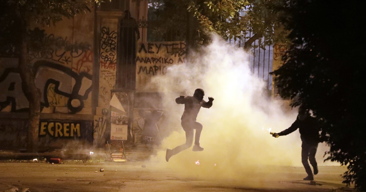 Protesters Riot In Greece Against Obamas Visit Nbc News
