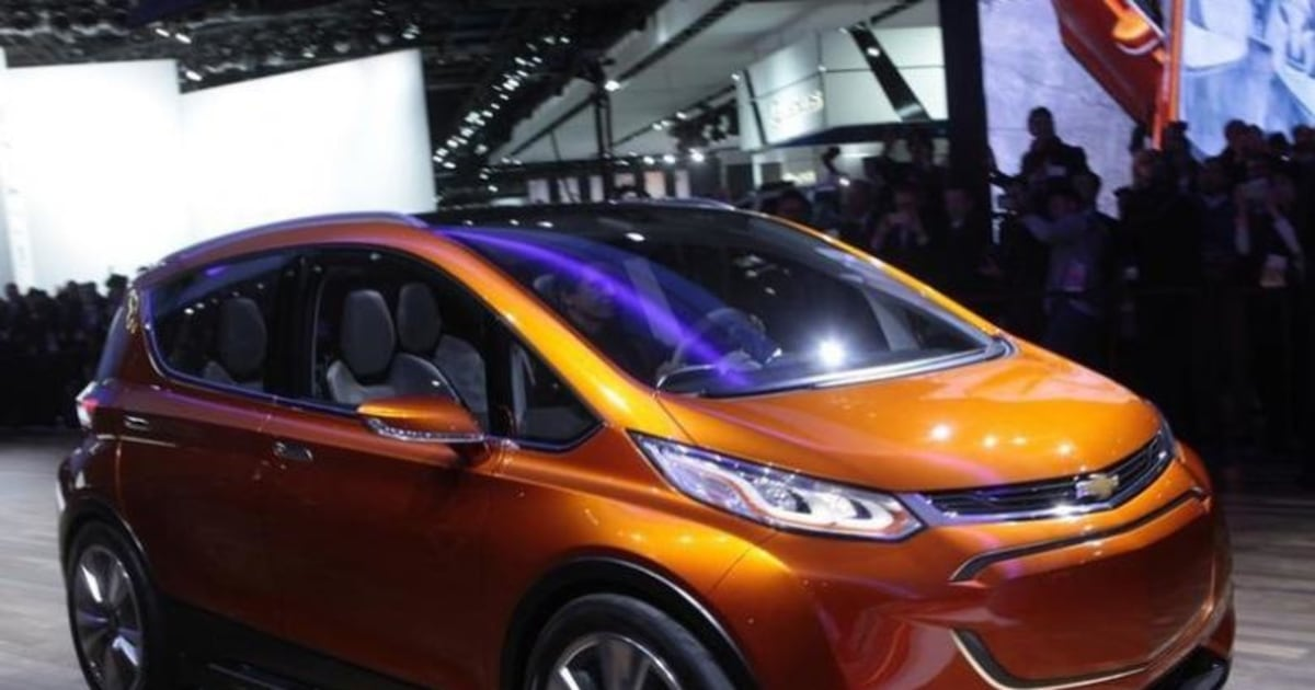 Electric Vehicle Chevy Bolt Named Car Of The Year