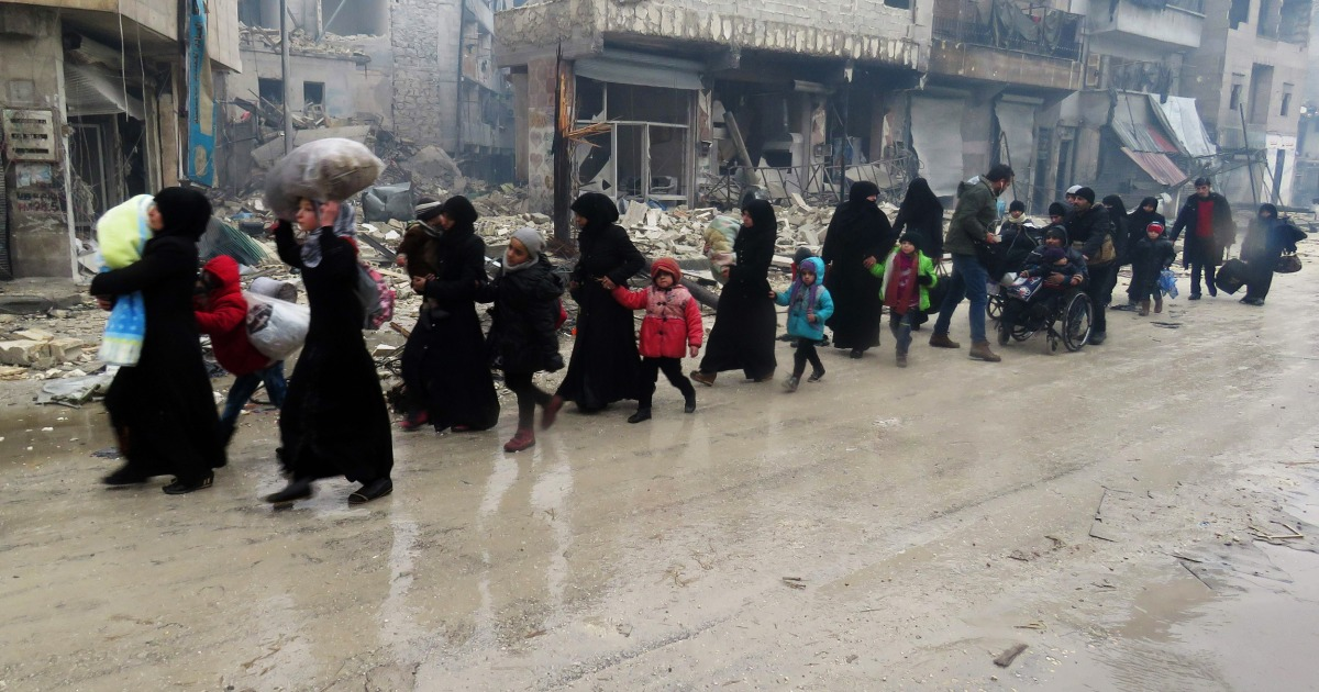 Cease-fire deal reached in Aleppo amid 'complete meltdown of humanity'