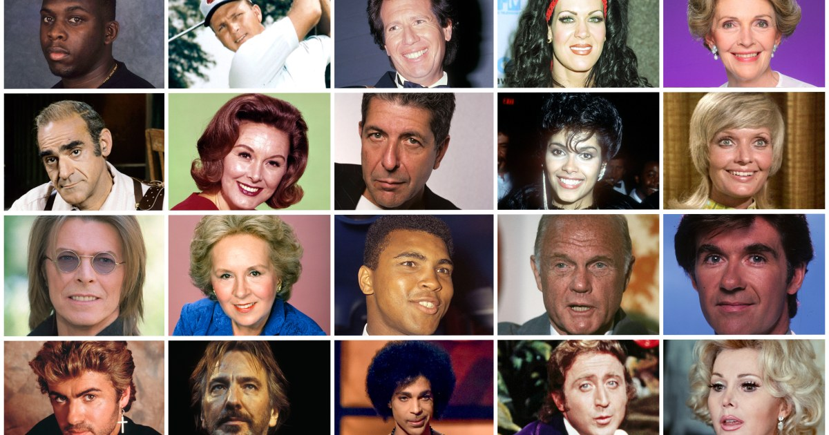 Celebrity Deaths in 2016: Some of the Many Famous Figures We Lost
