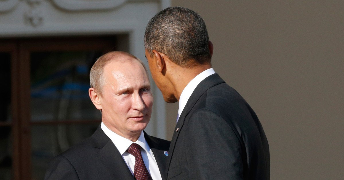 What Obama Said To Putin On The Red Phone About The Election Hack