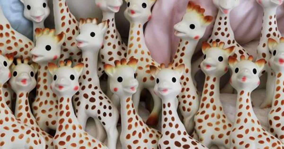 Don T Panic Over That Sophie The Giraffe Mold