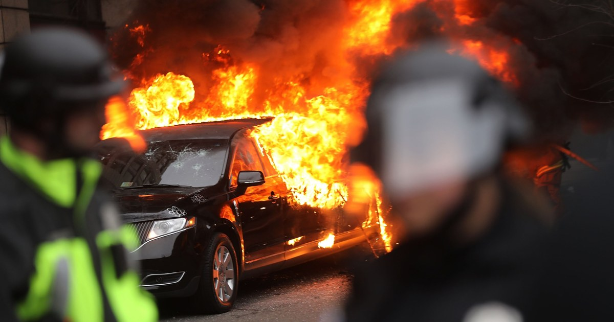 Government drops charges against all inauguration protesters