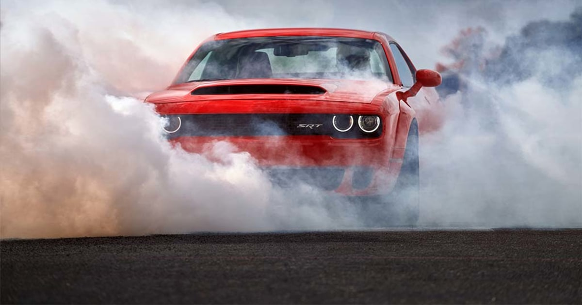 new dodge demon is the fastest production car in the world can even pop a wheelie. Black Bedroom Furniture Sets. Home Design Ideas