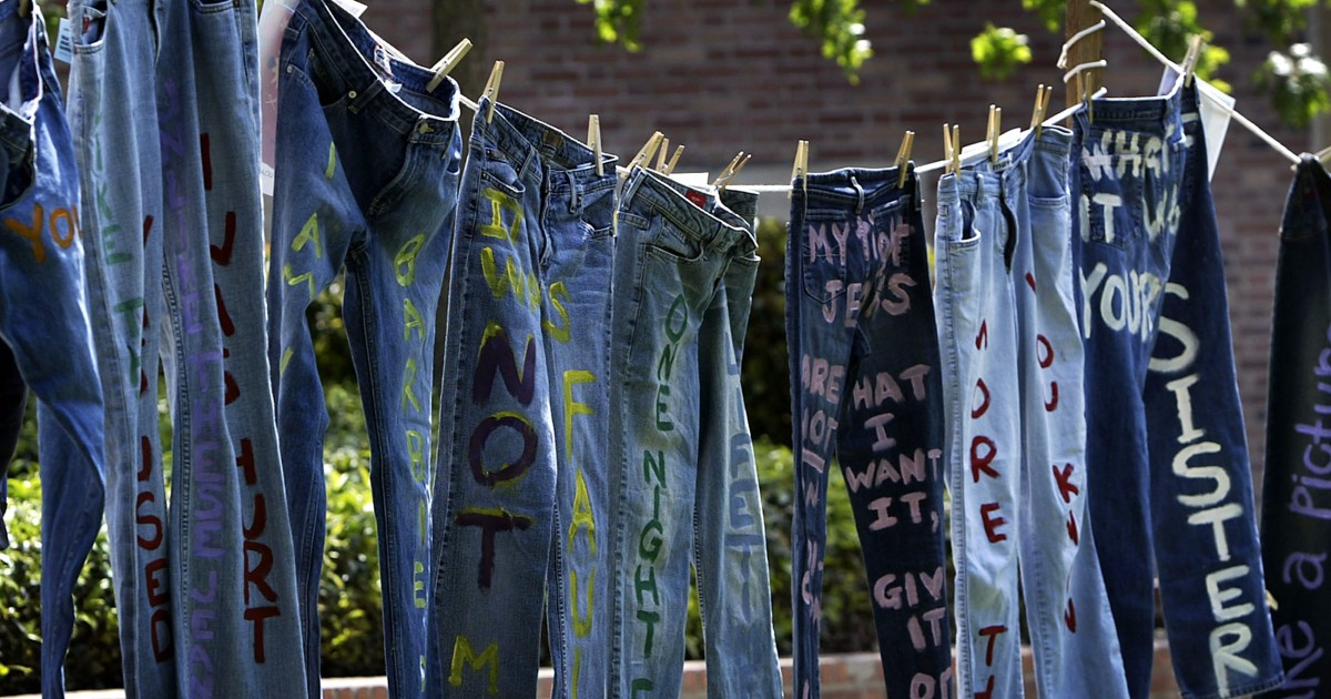 U0026#39;Denim Dayu0026#39; Offers Chance to Stand With Victims of Sexual Violence Simply by Wearing Jeans - NBC ...