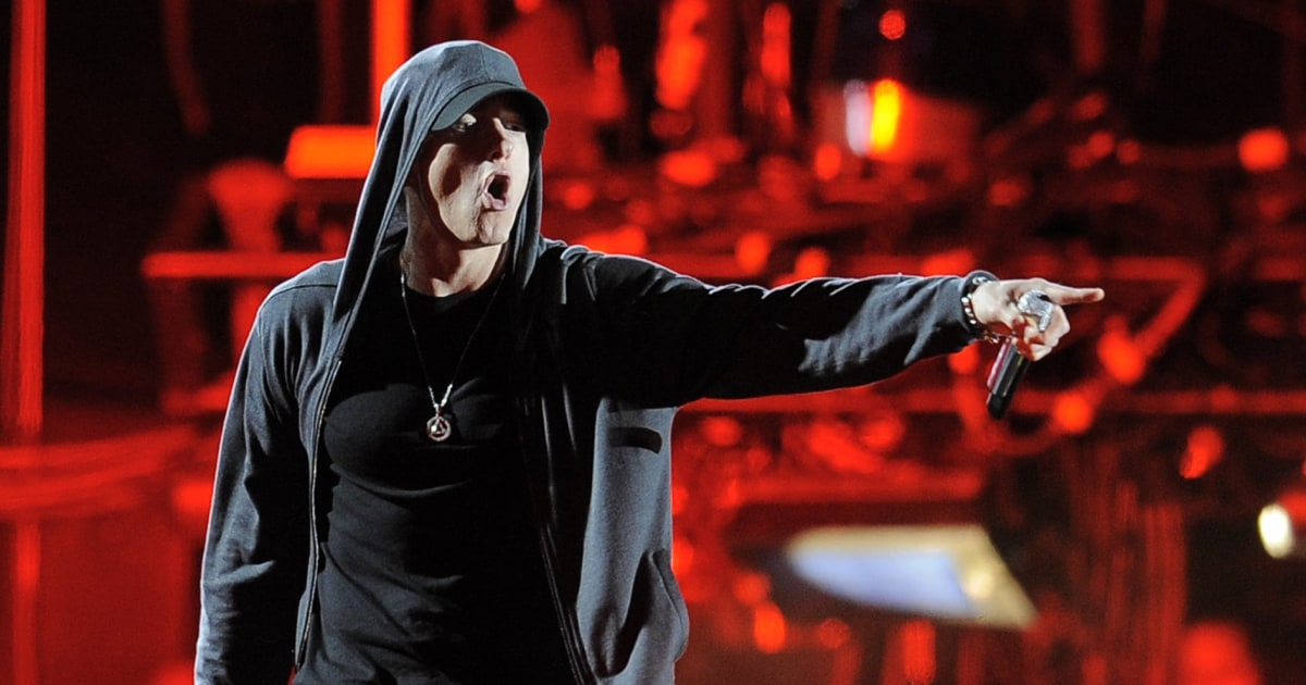 Eminem attacks Trump in four minutes of furious rap