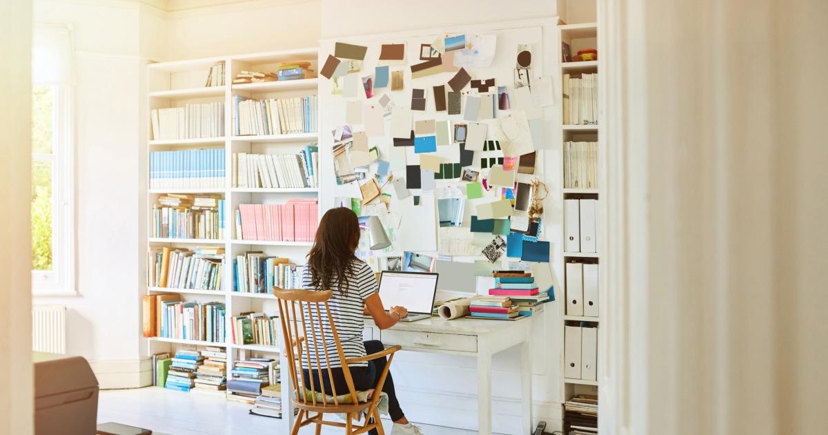 How to set up a home office, die wird nicht Schaden Ihrem Rücken, Handgelenke oder Hals