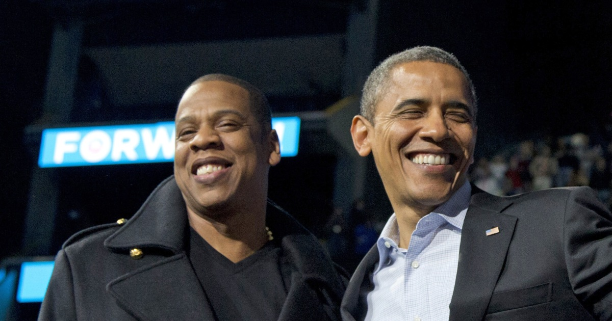 Obama Honors Jay Z at Songwriters Hall of Fame - NBC News
