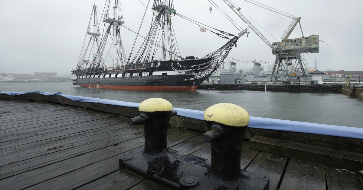 Historic USS Constitution, 'Old Ironsides,' Returns to ...Uss Constitution Pictures