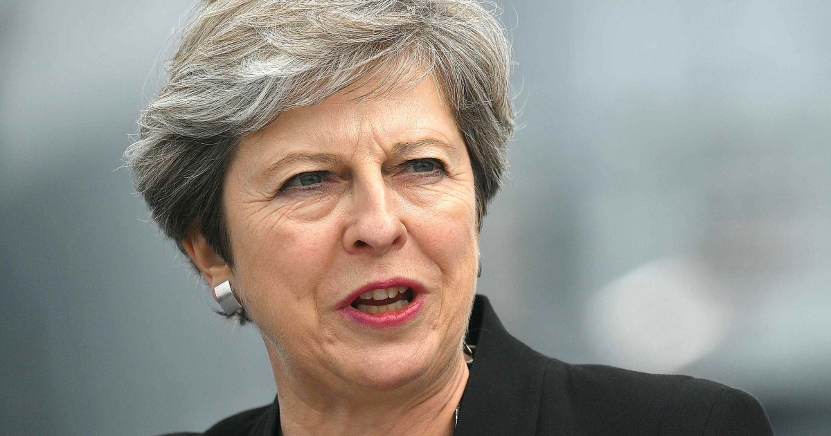 Theresa May on Trump tweet: 'I don't think it's helpful'