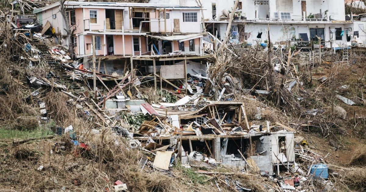 Little St James Island Hurricane Irma