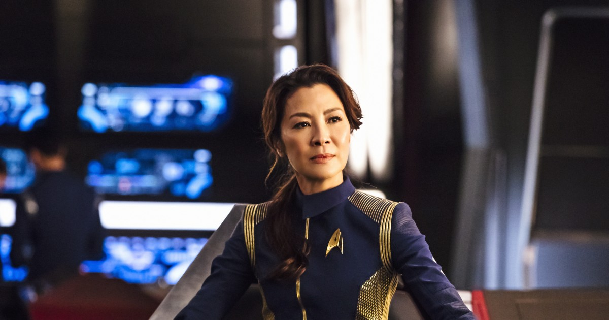 Image result for star trek discovery michelle yeoh