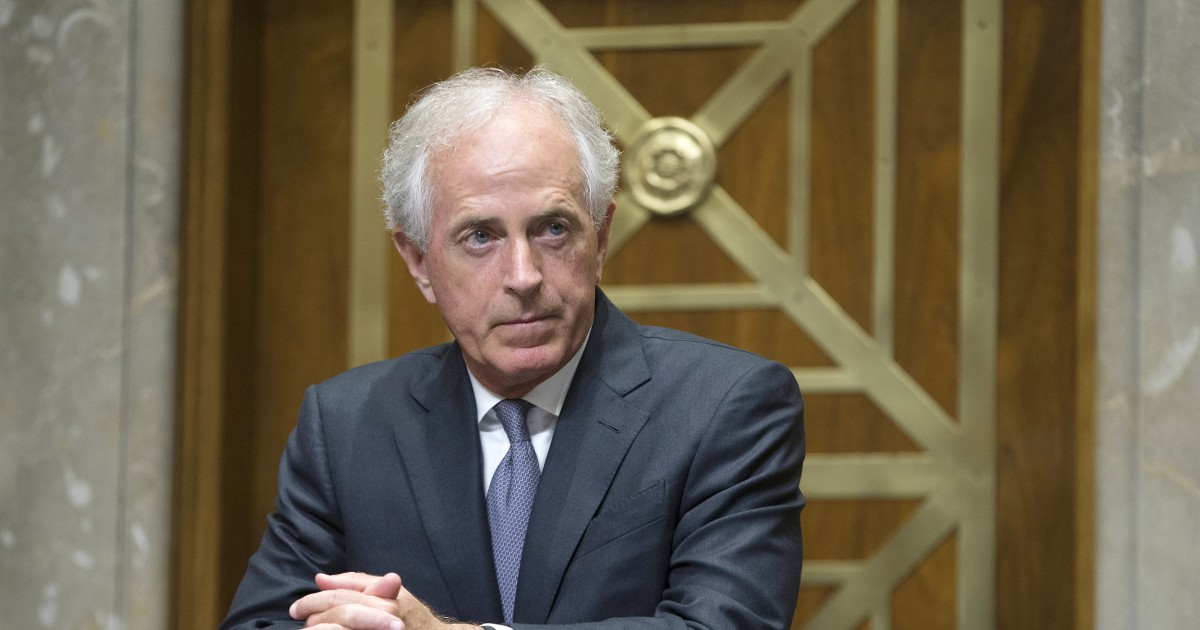 Sen. Corker calls White House 'adult day care center' after Trump attack