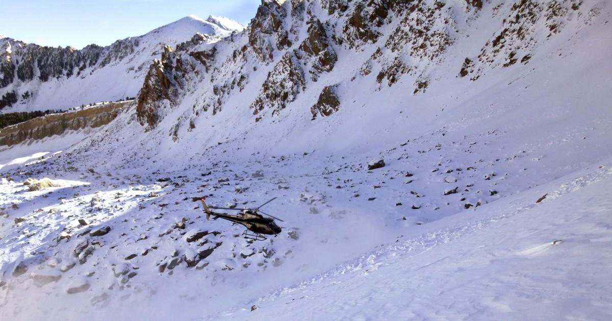 Climber kills himself after girlfriend dies during Montana avalanche