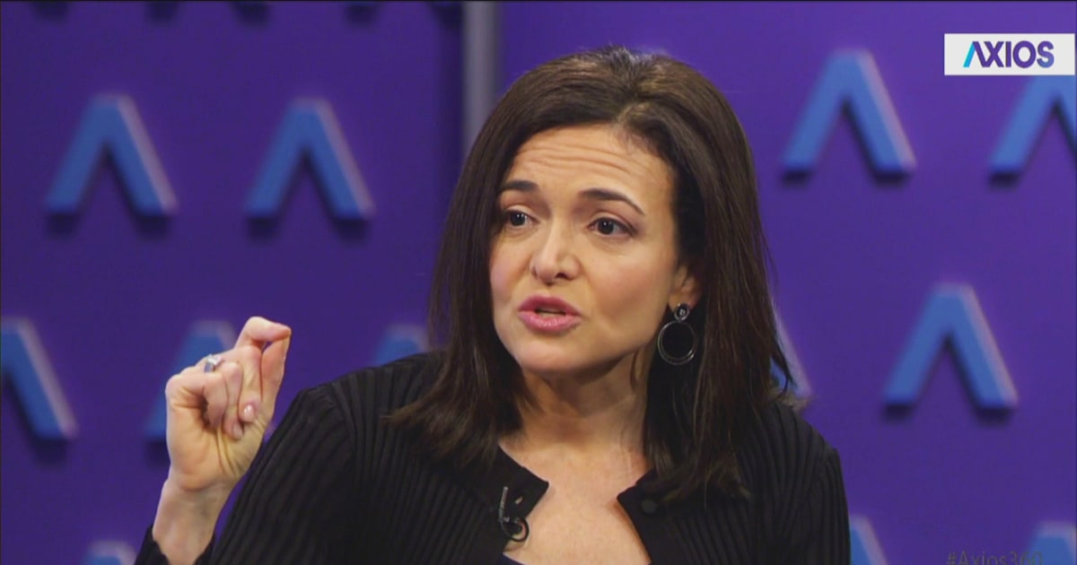 Sheryl Sandberg says Facebook will reveal how Russia targeted U.S. voters