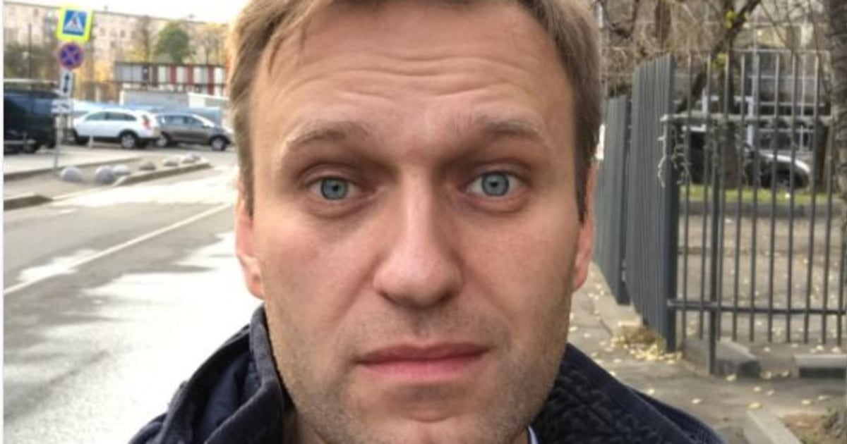 Putin critic Navalny celebrates release from prison with selfie