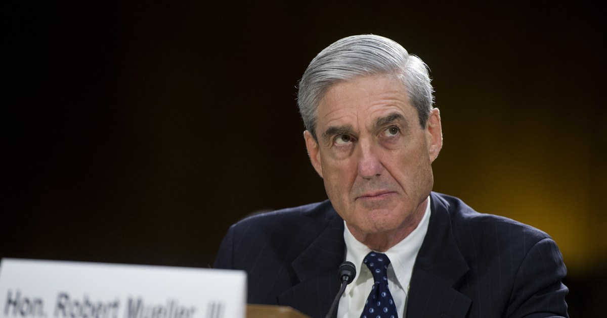 The White House Office Of Press >> Robert Mueller's Office Will Issue First Indictment Monday, Sources Confirm - NBC News