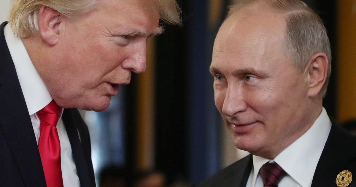 Putin calls Trump to thank him for shared intelligence information