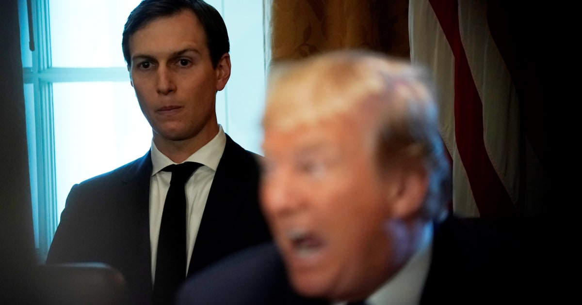 Senators press Kushner over 'incomplete' Trump-Russia evidence