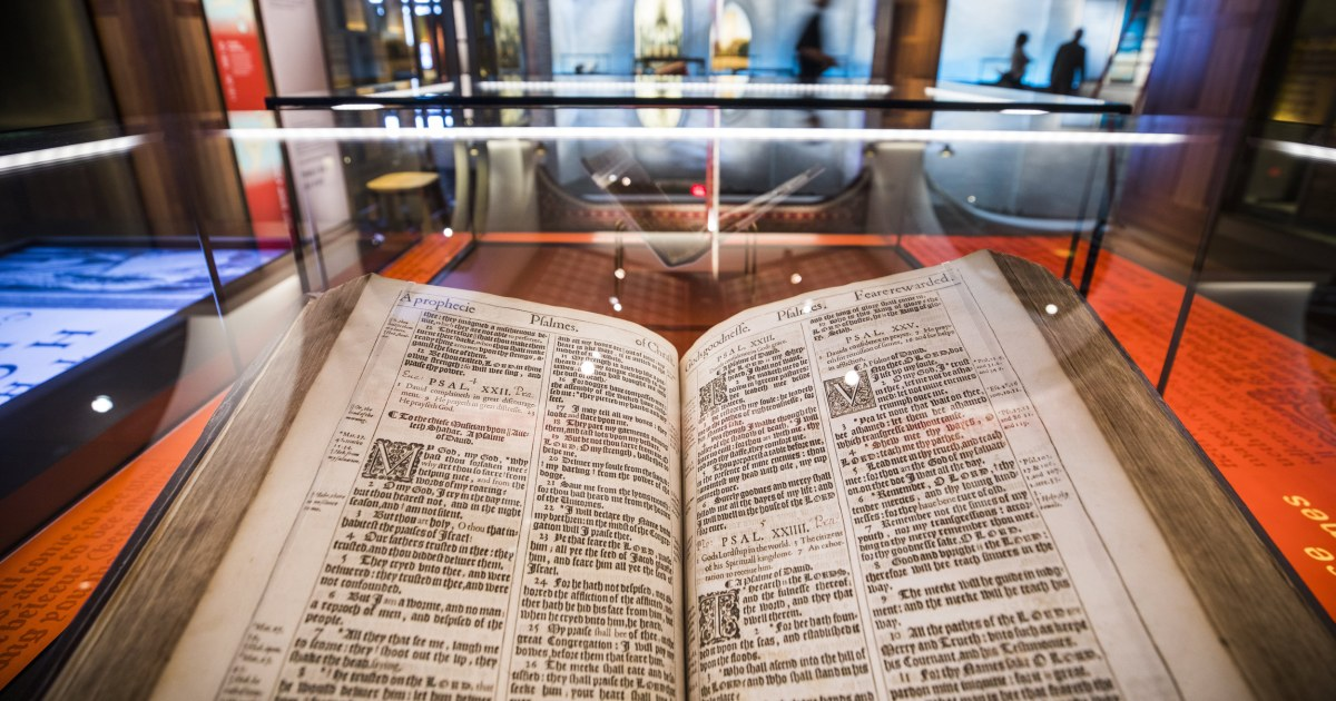 Museum of the Bible opens in Washington, DC, with celebration amid cynicism