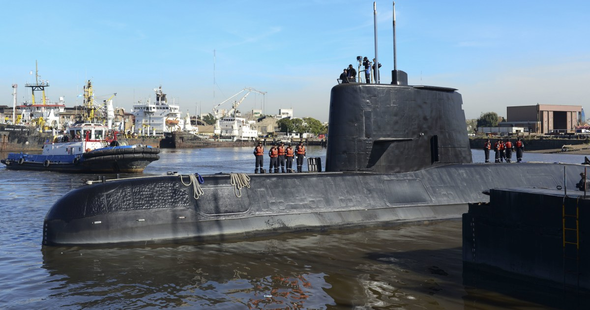 Argentina unsure whether signals came from missing submarine