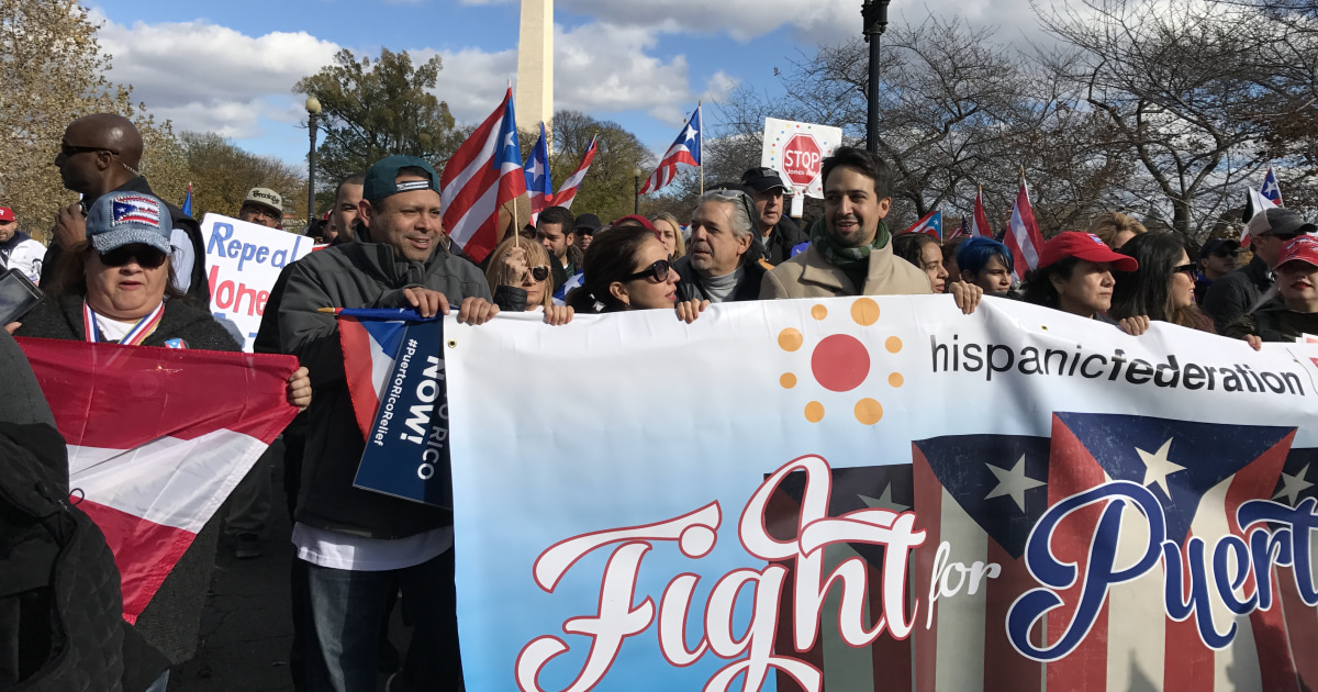 Thousands March in DC for More Hurricane Relief for Puerto Rico