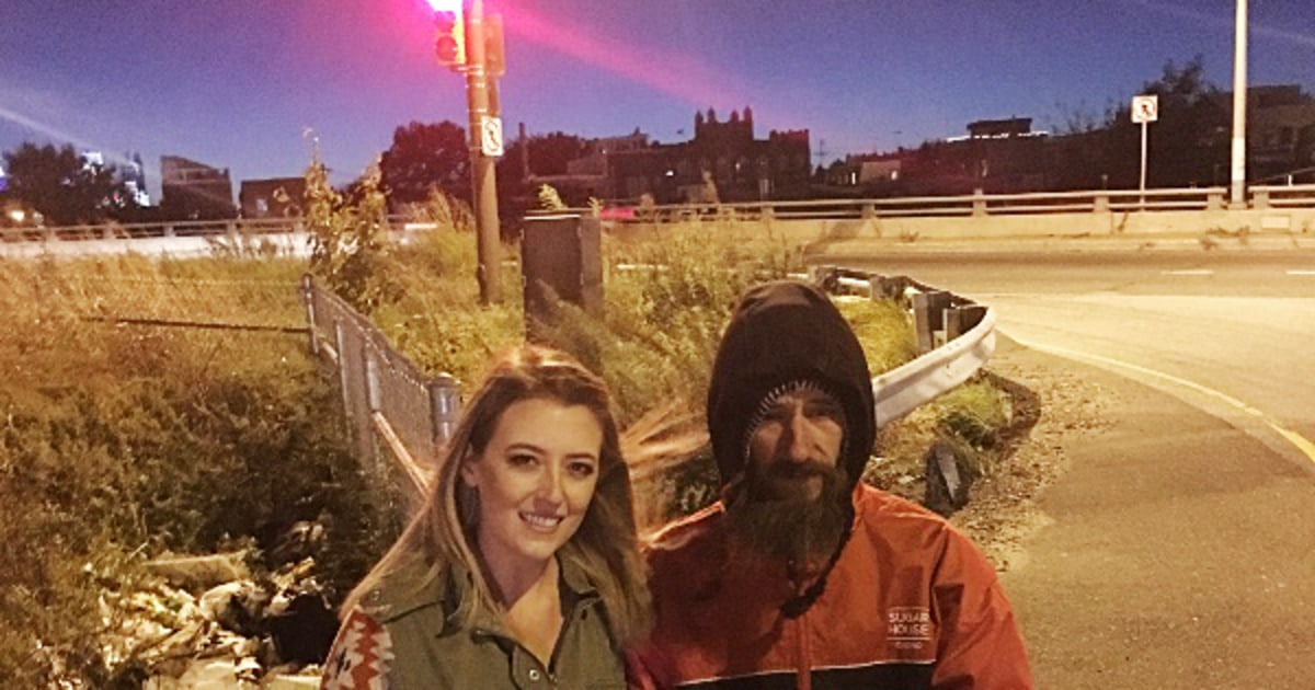 Woman raises more than $250,000 for homeless man who helped her
