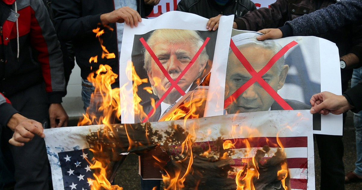 Trump's Jerusalem decree outrages leaders from London to Amman
