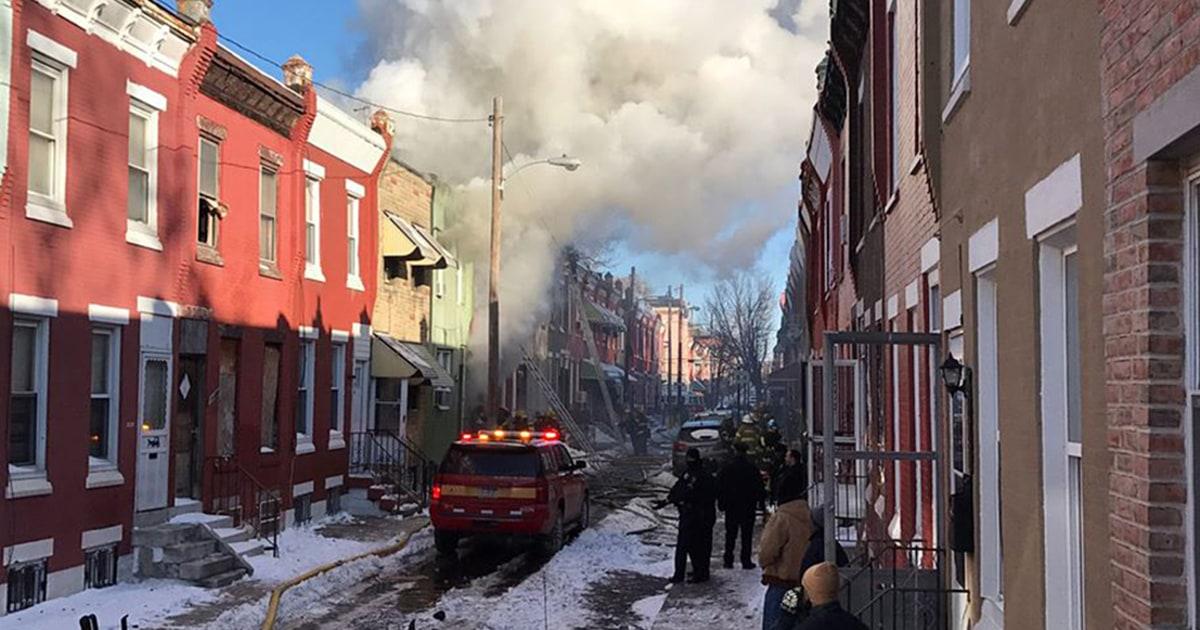 Firefighter, civilian killed in Philadelphia house fire