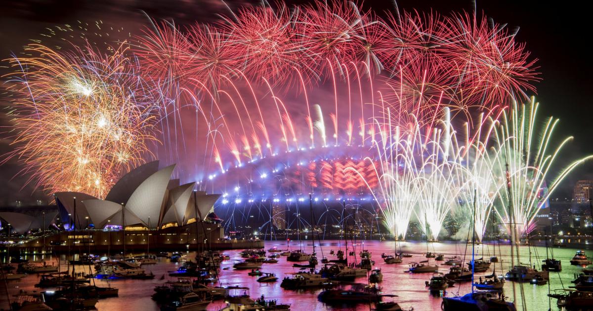 シドニーの象徴的な新年の花火にも功