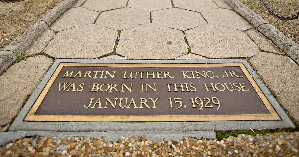 Trump Designates Martin Luther King Jr Birthplace A National