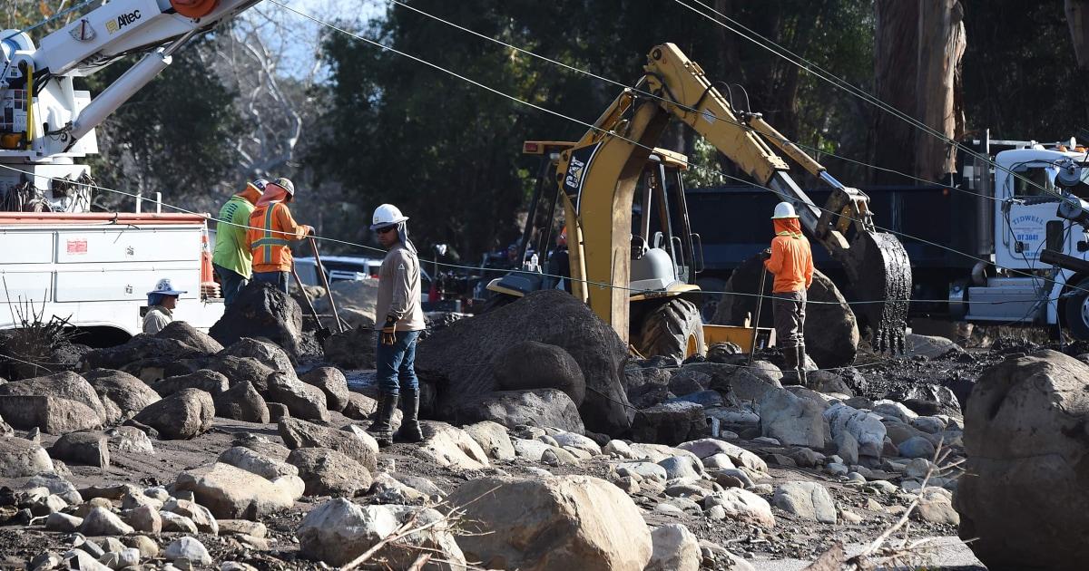 Children among dead in huge California mudslide, 43 reported missing