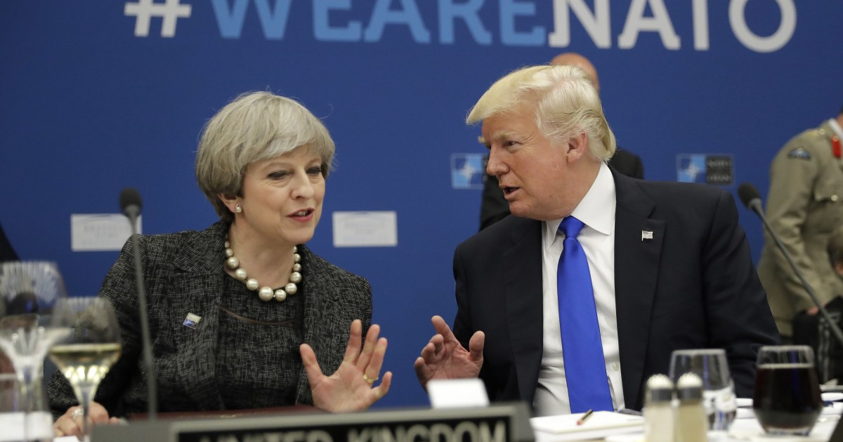 Trump cancels London trip, blames Obama for embassy deal