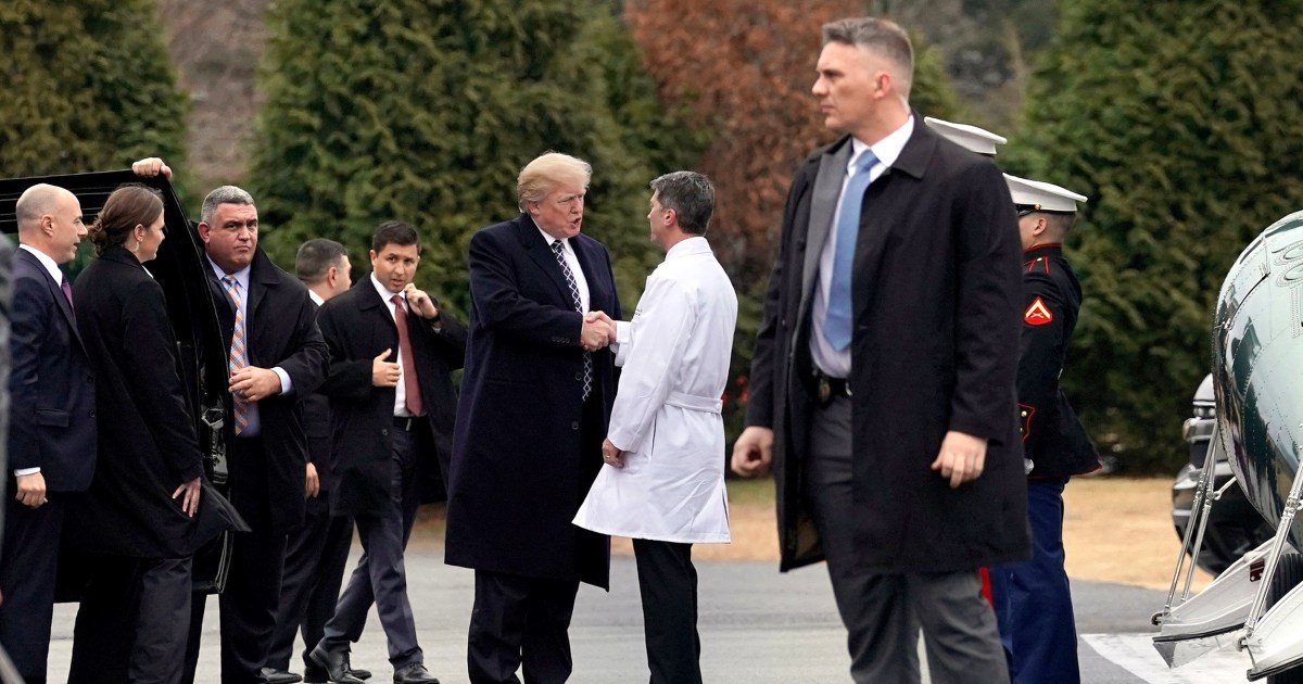 White House doc: Trump in 'excellent health' after yearly physical exam