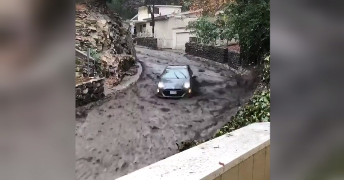 'Through hell and high water': Man whose Prius surfed river of mud recounts tale