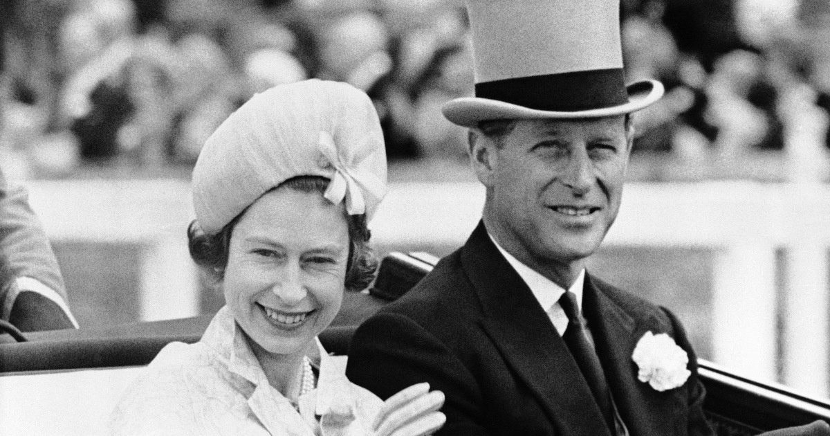 PHIL-ANDERER? Prince Philip may have cheated on the Queen
