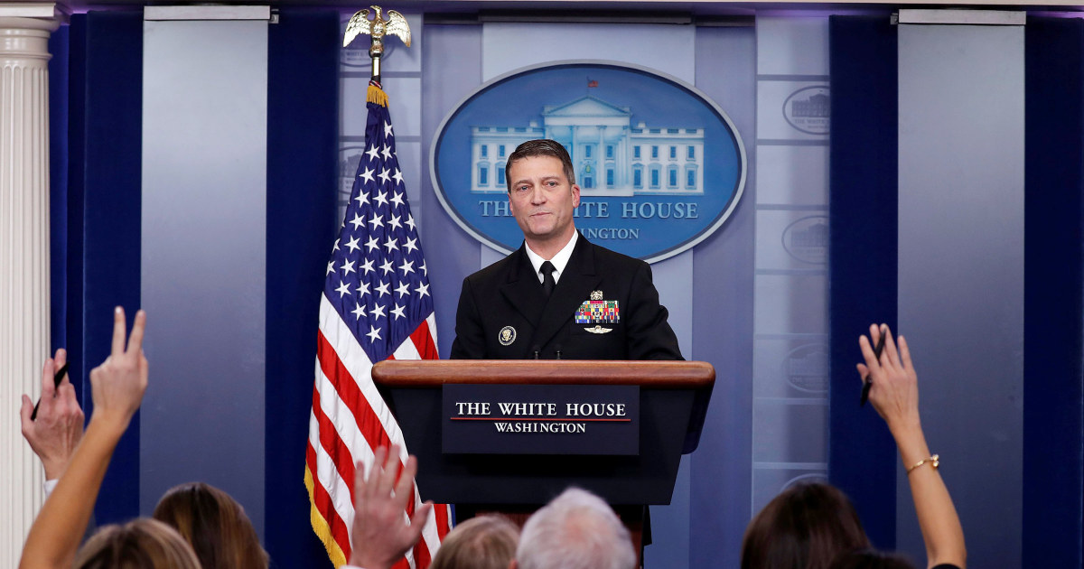 WH doctor deems Trump mentally 'very sharp,' in 'excellent' health
