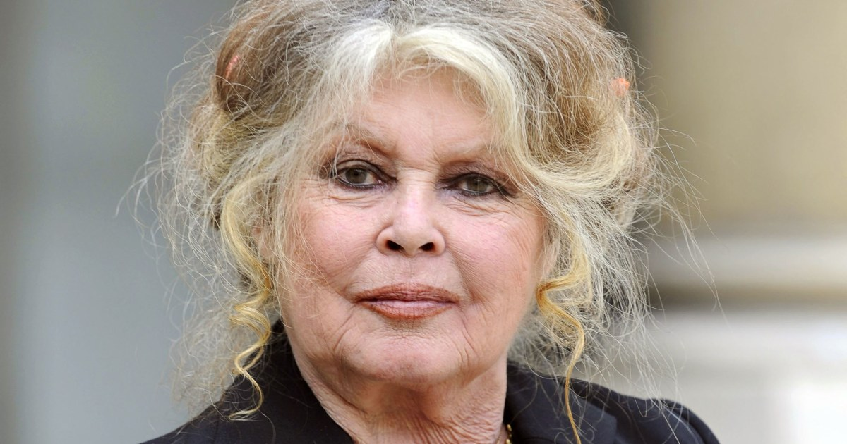 Brigitte Bardot faces lawsuit over 'racist' comments about French island - NBC News