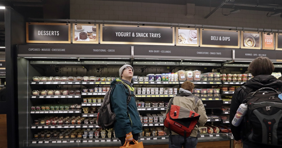 No lines, no checkout, no problem! Is Amazon Go the grocery store of